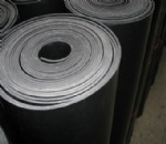 Rubber Sheet with Fabric Insertion
